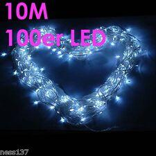 Guirlande Electrique Lumineuse 100 LED 10m BLANC Fête Nôel