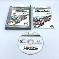 Burnout Paradise (Microsoft Xbox 360, 2008) Racing Game Complete with Manual