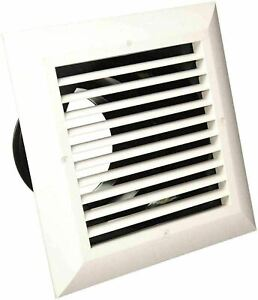 """Airtec MXE 81916 Classic 8"""" x 8"""" Ceiling Diffuser with Exhaust Grille Quick Fit"""