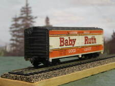 HO Scale Roundhouse 40' Baby Ruth Refrigerator Box Car Train Vintage Reefer