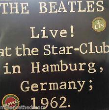 Beatles-en vivo en Star Club de Hamburgo 1962 ~ Gatefold 2 X Vinilo Lp alemana de prensa