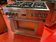 New listing 36� Thermador Gas Range Pro Harmony Prg366Wh/02 (Used 2019)