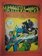 MASHERA NERA N°13 CORNO DEL 1963-ANNO 2 GIGANTE -CON BUCK ROGERS DI GEORGE TUSKA