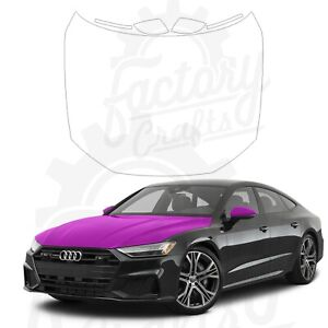Paint Protection Film Clear PPF for Audi A7 Prestige 2020 Full Hood