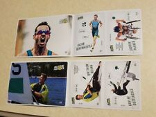 New listing Aussie Heroes Woolworths Olympic Stickers - Triathlon and Sailing
