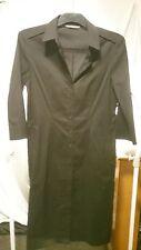 Sportscraft Ladies Dress in a Black Cotton Blend Fabric Style No.104218