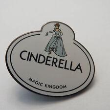 Disney Cinderella Nametag Pin