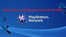 PS3 Console ID 100% Private ,Unban IDPS CID + PSID with warranty