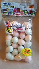 "Vintage Toy Eggs, Eggsville, USA 24 Miniature Speckled Eggs 2"" Easter"