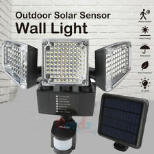 Led Solar Security Lights Motion Outdoor, 2000Lm Super Bright Solar Wall Light