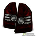 2008-2010 Chrysler 300 Base/Touring Red Smoke Tail Brake Lights Lamps Left+Right  for sale