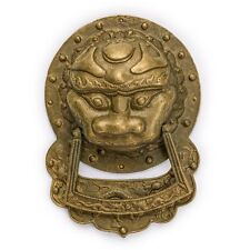 CBH KING LION Chinese Brass Hardware Door Knocker 9.3""
