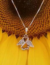 Kay Jewelers open heart angel diamond box link necklace by Jane Seymour