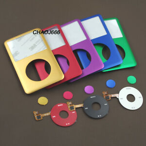 faceplate cover clickwheel center button for ipod 6th 7th classic 80/120/160gb