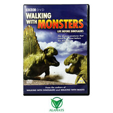 Walking With Monsters - Life Before Dinosaurs (DVD) Very Good - BBC Documentary