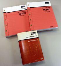 Case 1835c Uni Loader Skid Steer Owners Operators Service Repair Shop Manuals