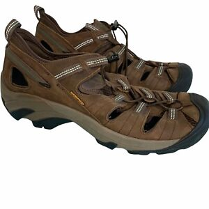 Keen Sandals Mens Size 13 Brown River Shoes Outdoor Waterproof