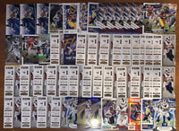 (86) TODD GURLEY MIXED FOOTBALL CARD LOT MANY INSERTS AND PARALLELS WOW!!