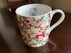 Hello Kitty liberty art fabrics ceramic coffee tea  mug