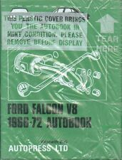FORD FALCON V8 XR XT XW XY XA SERIE 1966 - 1972 Proprietari Manuale Officina * NUOVO *
