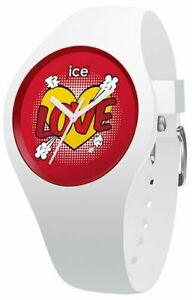 Ice Watch - Heart - Small 015267, Ice-Love Silicone White analog quartz Watch