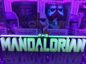 GitD Star Wars Mandalorian Display For Funko Pops