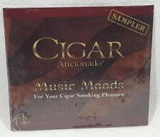 Cigar Aficionado Music Moods For Your Cigar Smoking Pleasure Sampler CD NEW