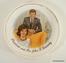 Vintage President and Mrs. John F. Kennedy Plate