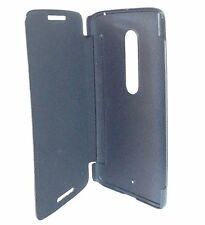 Motorola Moto X PLAY Flip Back Cover Cases - Black