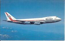 Wardair (Canada) - Boeing 747 - Airline Issue Card