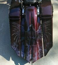 2014-2017 HARLEY DAVIDSON SUPER Stretched Bags and Fender for FLH TOURING