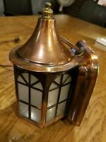 Artolier lighting Copper Sconce Light Fixture