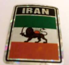 """3x4"" Iran with Lion Sticker / Iran with Lion Flag"
