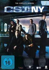 CSI : NY NEW YORK DIE KOMPLETTE DVD SEASON / STAFFEL 1 DEUTSCH