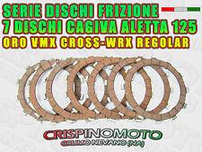 SERIE DISCHI FRIZIONE CAGIVA ALETTA ORO 52- 125 WMX CROSS/VRX REGOLAR
