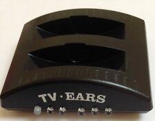 TV Ears Recharge Socle Unité pour TV Ears Casque Système Supporte 2 Paires