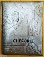 1961 WHITESBURG HIGH SCHOOL YEARBOOK, THE CHEROKEE, WHITESBURG, TN
