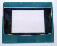 Belling farmhouse green oven door glass
