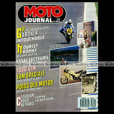 MOTO JOURNAL N°802 YAMAHA XS 650 CHOPPER HONDA 250 HELIX GRAND PRIX RIJEKA 1987