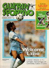 GUERIN SPORTIVO=N°24 1983=WELCOME LAZIO=AL JARREAU=SPANDAU BALLET