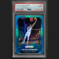 2015 Panini Prizm Kevin Durant Light Blue Prizm #96 100/199 PSA 9 MINT
