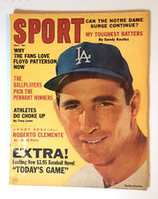 May 1965 SPORT Magazine- Sandy Koufax Cover & Article (E1238)