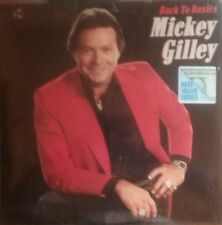 """MICKEY GILLEY """"Back To Basics"""" USED 1987 Epic LP NM/NM"""
