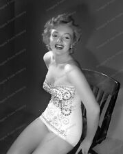 8x10 Print Marilyn Monroe Sexy Leggy Seated Portrait #MM777