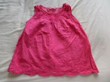 Young Dimension Girls Pink Sleeveless Vest Top Size 4-5 Years