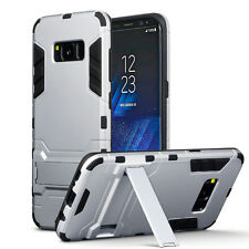 Samsung Galaxy S8 Rugged Military Grade Armour Multi Layer Cyber Case Silver