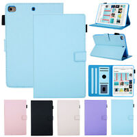 For iPad Mini 5 3 2 Air 6th Gen Pro 9.7 Slim Smart PU Leather Stand Cover Case