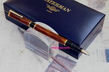 WATERMAN STILOGRAFICA TIPO NIGHT AND DAY LACCA MARRONE VINTAGE ANNI 70