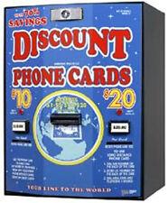 American Changer Ac502 Phone Card Vending Machine Standard 130 Card Capacity