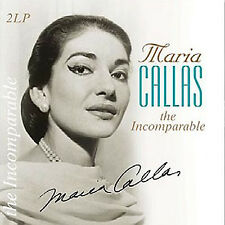 Maria Callas – The Incomparable Vinyl 2LP Vinyl Passion 2014 NEW/SEALED